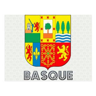 Manteau des bras Basque Carte Postale
