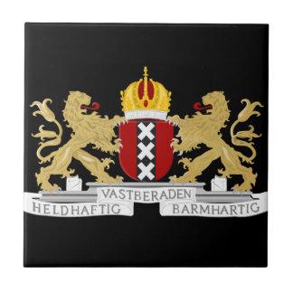 Manteau des bras d'Amsterdam Carreau