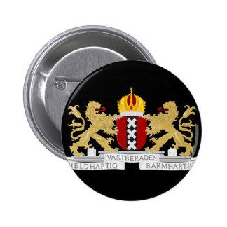 Manteau des bras d'Amsterdam Pin's