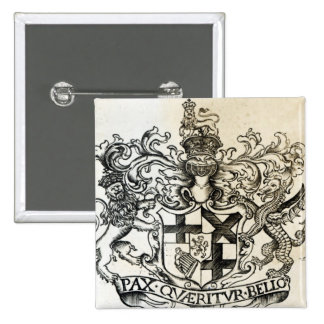 Manteau des bras d'Oliver Cromwell Pin's