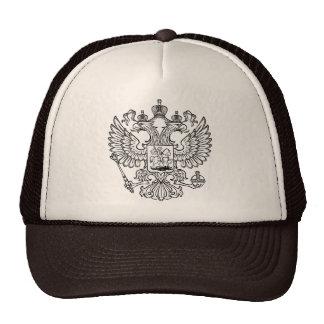 Manteau des bras russe de la Fédération de Russie Casquettes