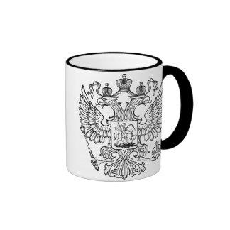 Manteau des bras russe de la Fédération de Russie Mug Ringer