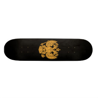 Manteau des bras russe de la Fédération de Russie Plateau De Skateboard