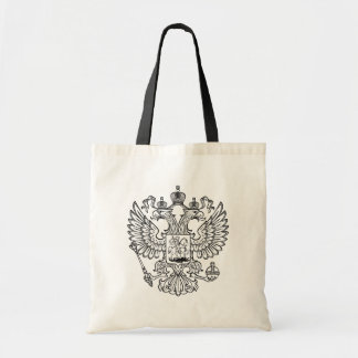 Manteau des bras russe de la Fédération de Russie Sac En Toile Budget