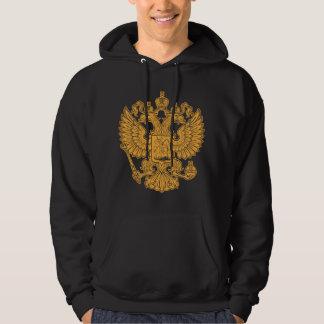 Manteau des bras russe de la Fédération de Russie Sweatshirt À Capuche