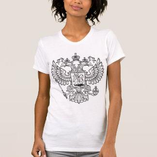 Manteau des bras russe de la Fédération de Russie T-shirt