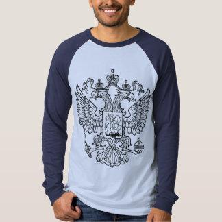 Manteau des bras russe de la Fédération de Russie T-shirts