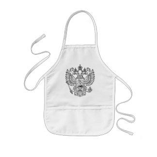 Manteau des bras russe de la Fédération de Russie Tablier Enfant