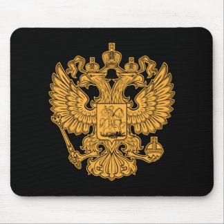 Manteau des bras russe de la Fédération de Russie Tapis De Souris