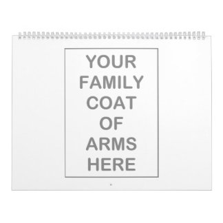 Manteau des calendriers de bras