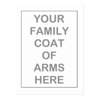 Manteau des cartes postales de bras