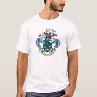 Manteau des Seychelles de T-shirt de bras