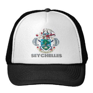 Manteau des Seychelles des bras Casquettes