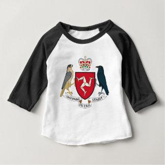 Manteau d'île de Man des bras - emblème mannois T-shirt Pour Bébé