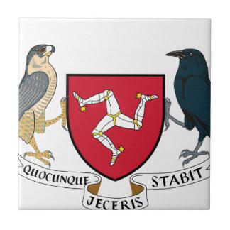Manteau d'île de Man des bras républicain - Carreau