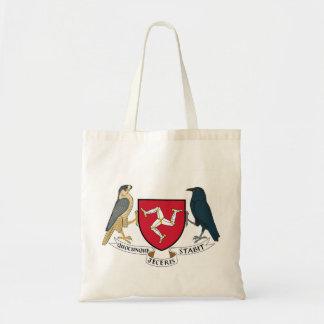 Manteau d'île de Man des bras républicain - Tote Bag