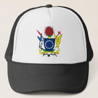 Manteau d'îles Cook de casquette de bras
