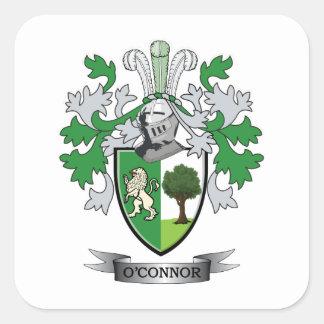 Manteau d'O'Connor des bras Sticker Carré