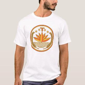 Manteau du Bangladesh de T-shirt de bras