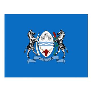 Manteau du Botswana des bras Carte Postale