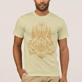 Manteau du Cambodge de T-shirt de bras