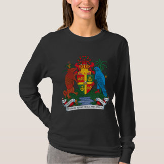 Manteau du Grenada de T-shirt de bras
