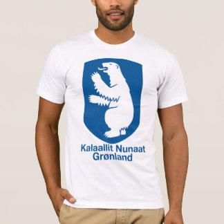 Manteau du Groenland de T-shirt de bras