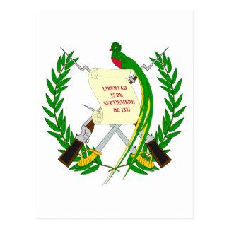 Manteau du Guatemala de carte postale de bras