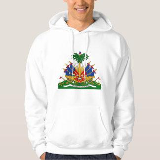 Manteau du Haïti de HT de bras Veste À Capuche
