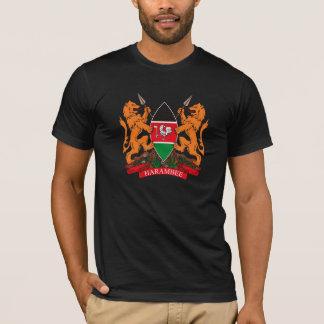 Manteau du Kenya de T-shirt de bras