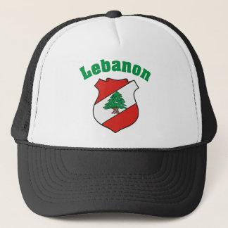 Manteau du Liban de casquette de bras/de drapeau