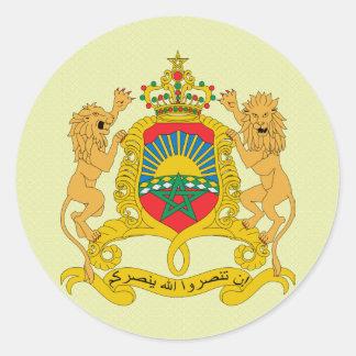 Manteau du Maroc de détail de bras Autocollant