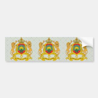 Manteau du Maroc de détail de bras Autocollant Pour Voiture