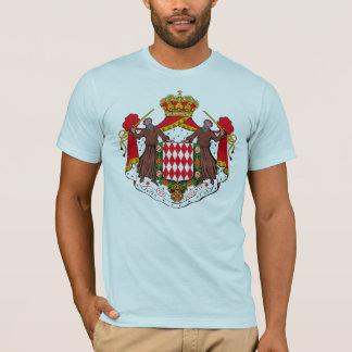 Manteau du Monaco de T-shirt de bras