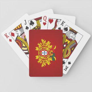 Manteau du Portugal des bras Cartes À Jouer