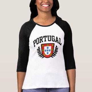 Manteau du Portugal des bras T-shirt
