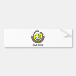 Manteau du Qatar des bras Autocollants Pour Voiture