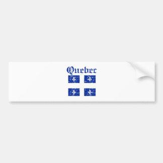 Manteau du Québec Canada de conception de bras Autocollant De Voiture