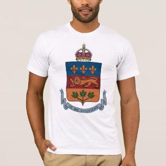 Manteau du Québec de T-shirt de bras (alternative)