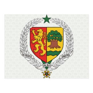 Manteau du Sénégal de détail de bras Cartes Postales