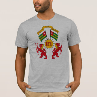 Manteau du Togo de T-shirt de bras