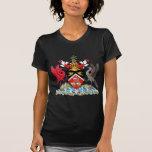Manteau du Trinidad-et-Tobago des bras T-shirt