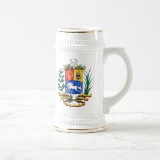 Manteau du Venezuela des bras Chope À Bière