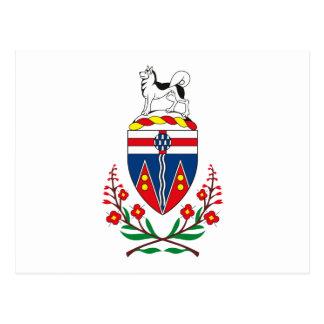 Manteau du Yukon de carte postale de bras