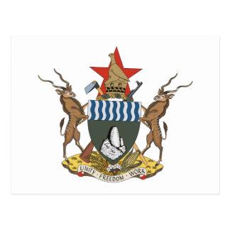 Manteau du Zimbabwe de carte postale de bras