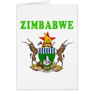 Manteau du Zimbabwe des conceptions de bras Cartes