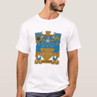 Manteau d'Upsilon de delta des bras T-shirt