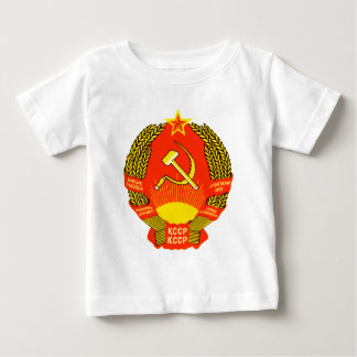 Manteau officiel de symbole d'héraldique de t-shirt pour bébé