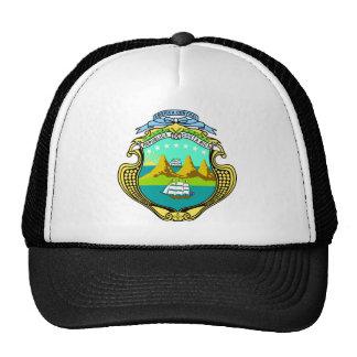 Manteau officiel du Costa Rica de symbole Casquette De Camionneur