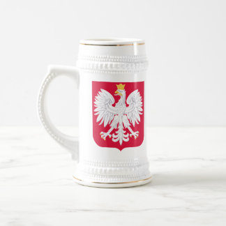 Manteau polonais de stein de bras chope à bière